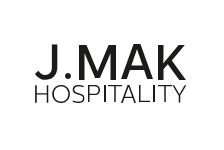 Logo for J.Mak Hospitality. Mykonos Riviera Hotel & Spa is a member.