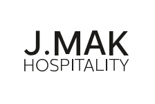 Logo for J.Mak Hospitality. Mykonos Riviera Hotel & Spa is a member.